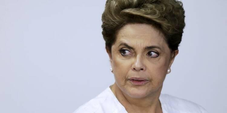 Jour crucial au Brésil pour Dilma Rousseff