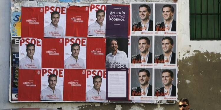 Les élections espagnoles devraient signer la fin du bipartisme