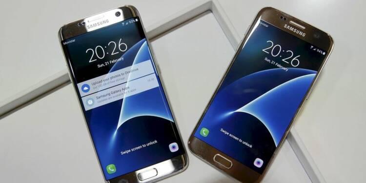 Hausse des résultats trimestriels de Samsung grâce au Galaxy S7