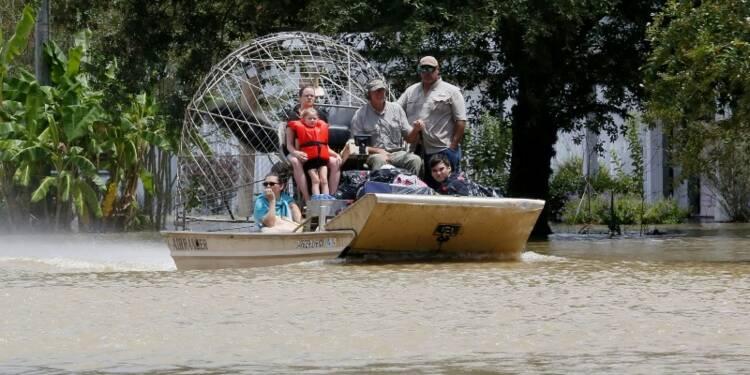 Onze morts et 20.000 évacués dans des inondations en Louisiane