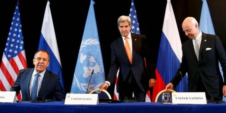 Washington attend des actes de la Russie sur le dossier syrien