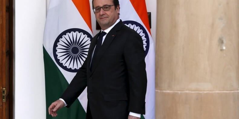 """""""Aucune menace ne fera douter la France"""", dit François Hollande"""