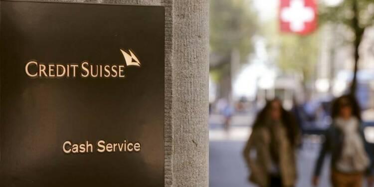 Rendements élevés dans les résultats retraités de Credit Suisse