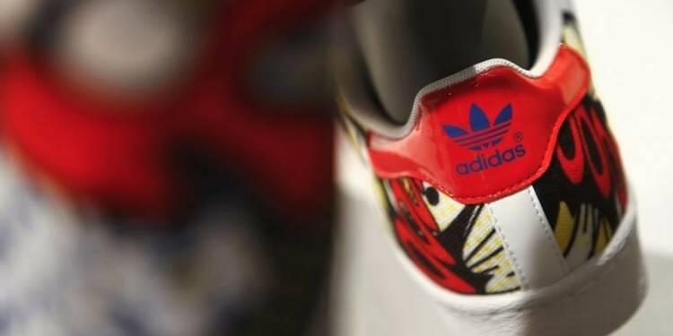 Adidas relève ses objectifs annuels après un trimestre solide