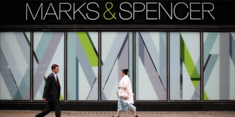 Hausse du bénéfice annuel de Marks & Spencer