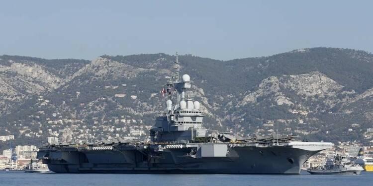 """Le """"Charles-de-Gaulle"""" en route pour l'est de la Méditerranée"""
