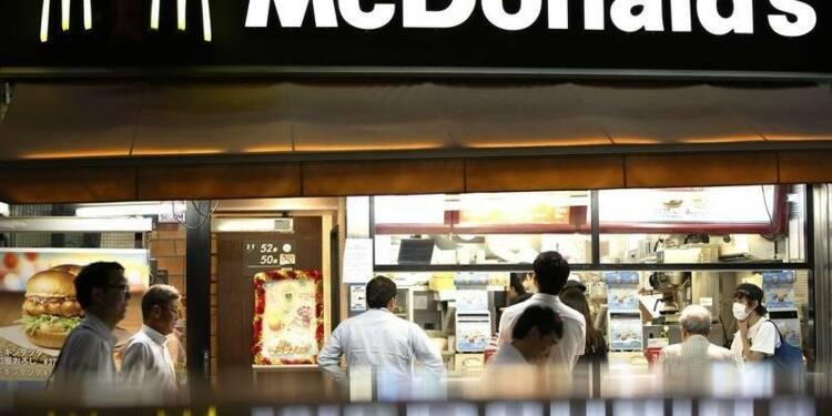 McDonald's prépare un plan de relance de ses ventes