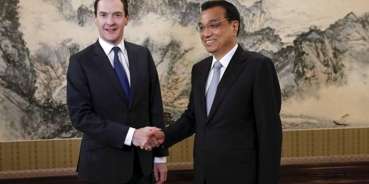 Pékin et Londres veulent renforcer leur coopération économique
