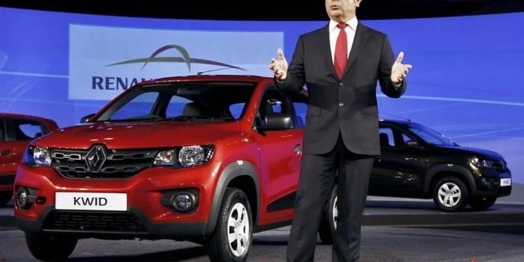 Renault vendra sa Kwid en Inde à partir de 3.500 euros
