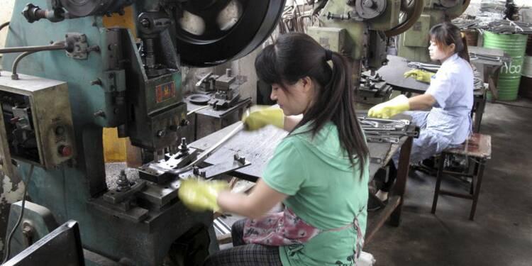 Plus bas de 15 mois pour l'activité manufacturière chinoise