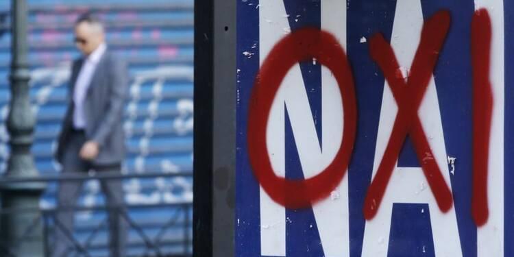 """Un sondage prévoit une avance du """"oui"""" au référendum grec"""