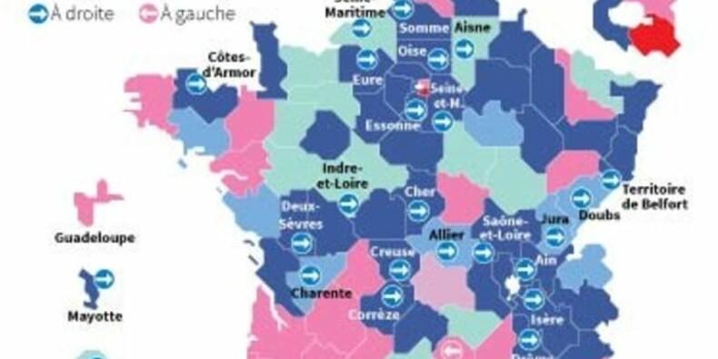 La droite engrange les présidences départementales