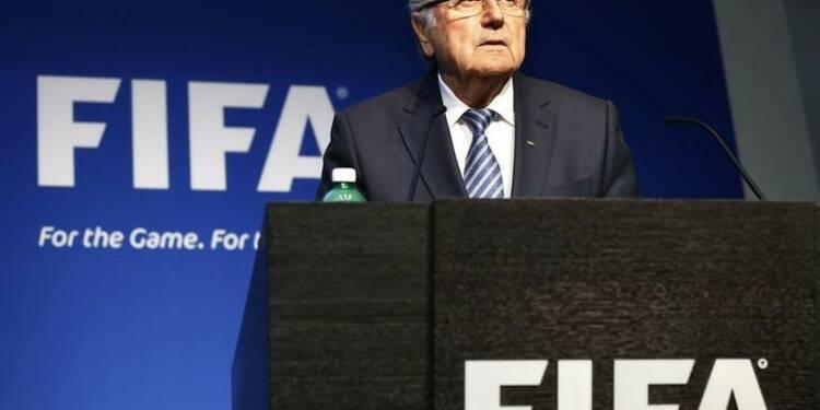 Sepp Blatter n'exclurait pas de rester président de la FIFA