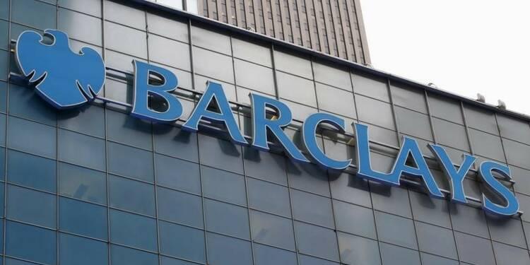Barclays annonce 1 milliard de livres de charges exceptionnelles