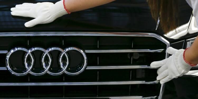 Audi maintient ses objectifs malgré une baisse de la marge