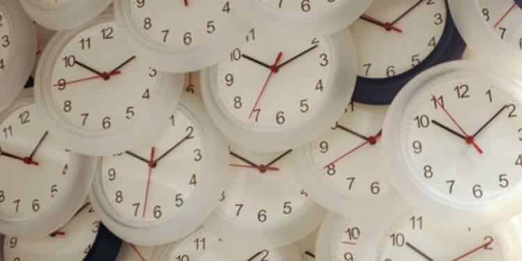 Le nombre d'heures supplémentaires diminue