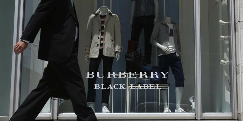 Ventes en hausse pour Burberry au second semestre