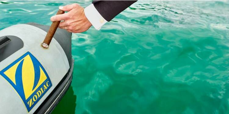 Les canots Zodiac, enfin sauvés des eaux