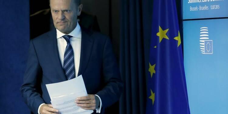 Donald Tusk annonce un accord unanime sur la Grèce