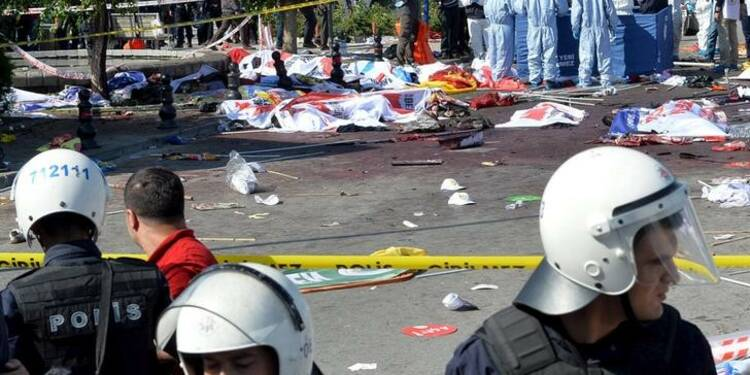 Piste djihadiste privilégiée après la tuerie d'Ankara