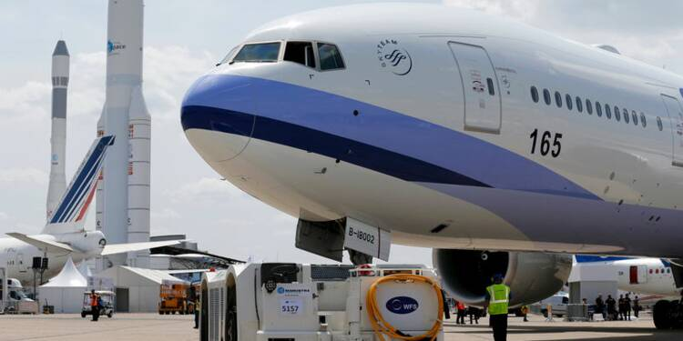 Au Bourget, avionneurs et motoristes face au défi de produire plus