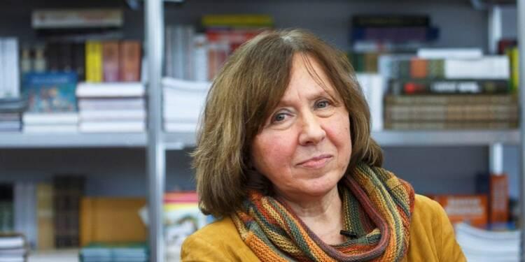 Le prix Nobel de littérature attribué à Svetlana Aleksievitch