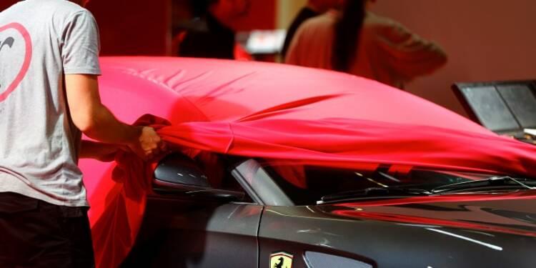 Ferrari espère lever 900 millions de dollars à Wall Street