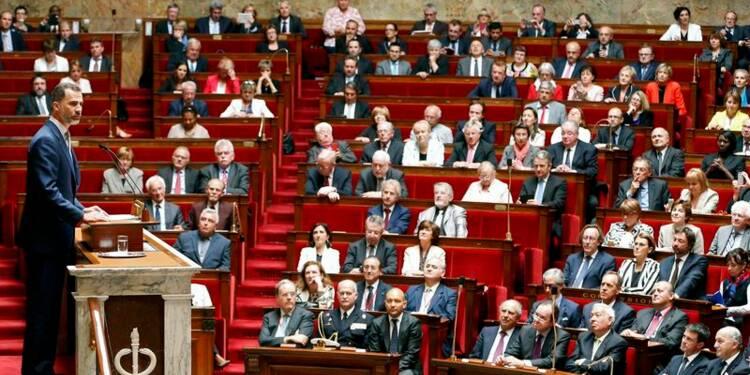 """Le roi d'Espagne souhaite """"plus de France"""" en Europe et ailleurs"""
