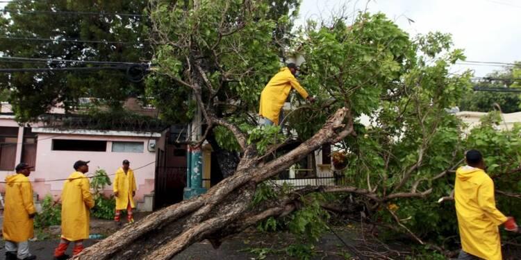 La tempête Erika se dissipe