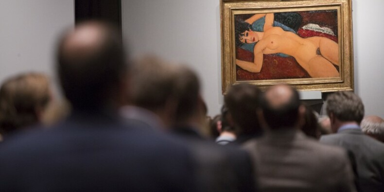 Un Modigliani vendu aux enchères pour 170 millions de dollars