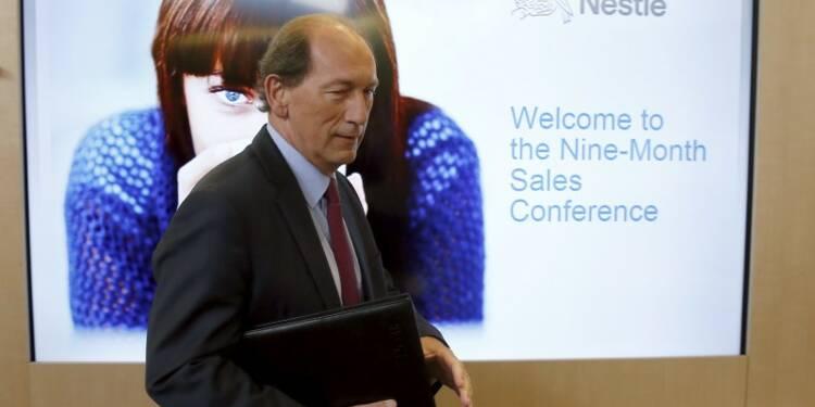 Nestlé abaisse son objectif de ventes