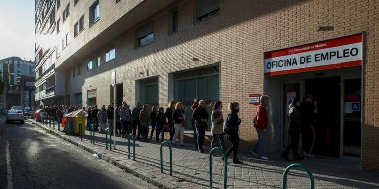 Le chômage en baisse en Espagne en mars