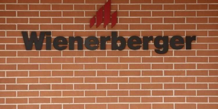Wienerberger relève ses objectifs annuels, le titre bondit