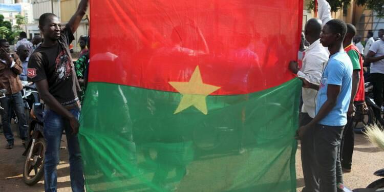 Accord entre putschistes et forces loyalistes au Burkina Faso