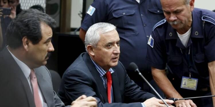 Le président du Guatemala, Otto Perez, a remis sa démission