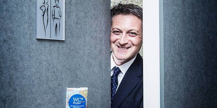 Michaël Amar : Son kit anti-toilettes sales fait un malheur