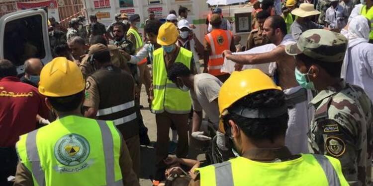 Au moins 310 pèlerins tués dans une bousculade près de La Mecque