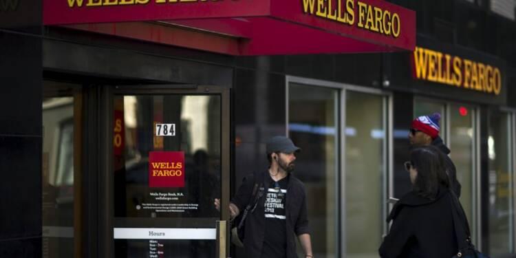 Hausse du bénéfice trimestriel de Wells Fargo