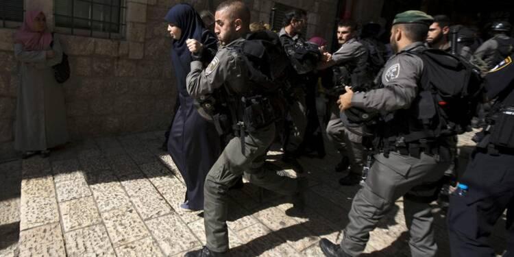 Heurts entre Palestiniens et la police israélienne à Jérusalem