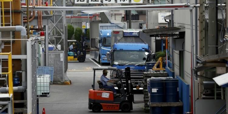 Accélération de la croissance du secteur manufacturier au Japon