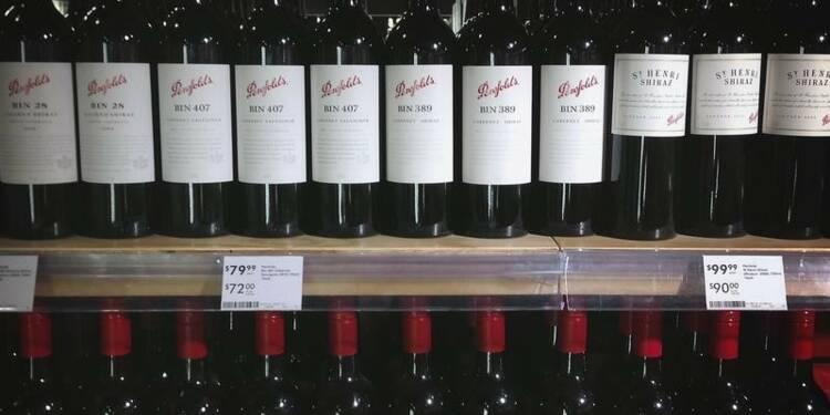 Treasury Wine prend l'essentiel de la division vins US de Diageo