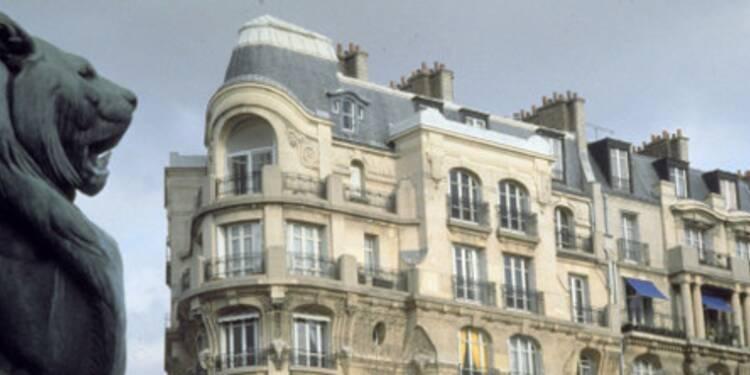 Les prix de l'immobilier de luxe parisien s'assagissent