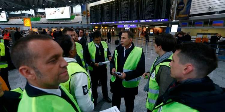 Deuxième jour de grève à Lufthansa