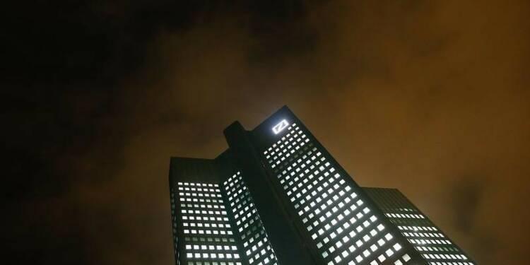 Deutsche Bank accepte de payer des pénalités aux Etats-Unis