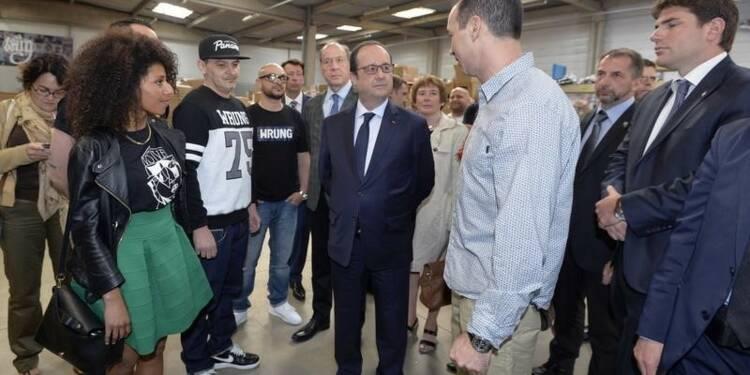 François Hollande encourage l'entreprenariat dans les quartiers
