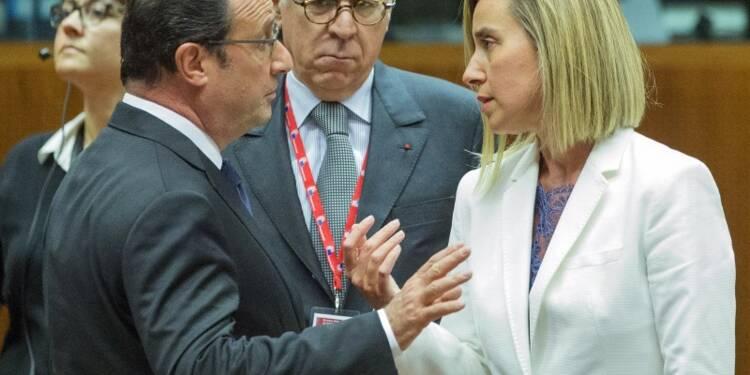 L'UE se dit à nouveau unie, s'engage à aider les Syriens