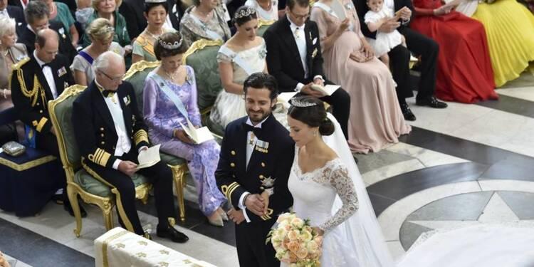 Le prince Carl Philip de Suède épouse une ex-star de la téléréalité