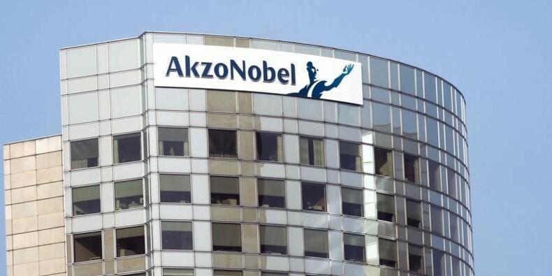 Les résultats d'AkzoNobel au 2e trimestre conformes aux attentes