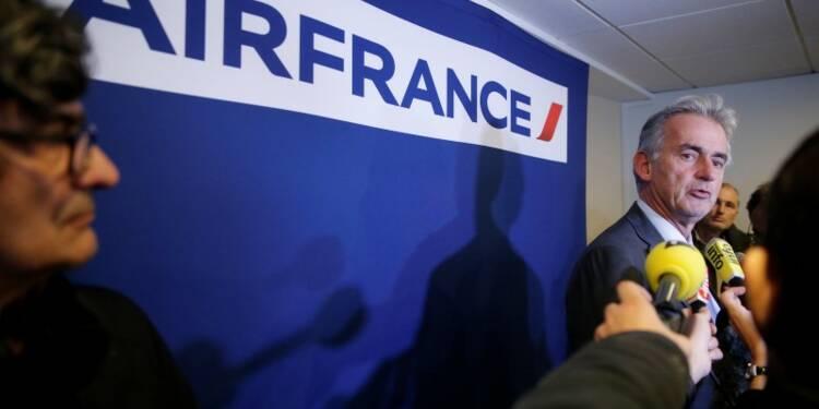 Air France a vu une embellie cet été mais veut se restructurer