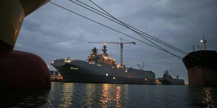 La possibilité d'un remboursement des navires Mistral évoquée